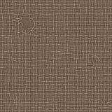 Realistic old ragged texture of brown burlap. Torn canvas, seamless pattern royalty free illustration