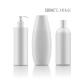 Realistic package for cosmetic product. Royalty Free Stock Photos