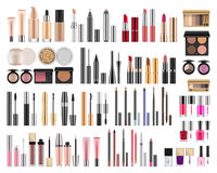 Realistic packages for decorative cosmetics Stock Photos