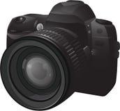 Realistic photo camera Royalty Free Stock Photos