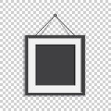 Realistic photo frame isolated on isolated background. Pictures. Frame vector illustration vector illustration
