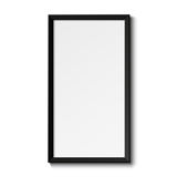 Realistic picture frame Royalty Free Stock Photography