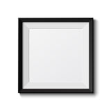 Realistic picture frame Royalty Free Stock Image