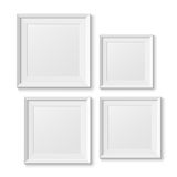 Realistic picture frames Royalty Free Stock Image