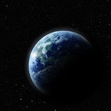 Realistic planet Stock Image