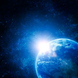 Realistic planet Royalty Free Stock Images
