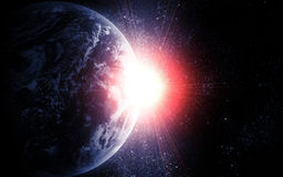 Realistic planet Stock Photography