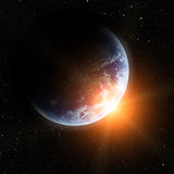 Realistic planet earth Royalty Free Stock Photography