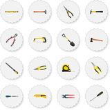 Realistic Pliers, Handle Hit, Forceps Vector Elements. Set Of Instruments Realistic Symbols Also Includes Forceps, Tape Royalty Free Stock Photo