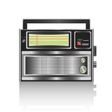 Realistic radio vector Royalty Free Stock Image