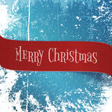 Realistic red paper Christmas Ribbon Royalty Free Stock Photos