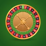Realistic roulette  Stock Photo