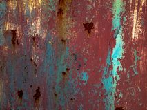 Realistic of rust contrast tone background. Royalty Free Stock Images