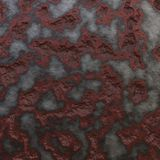 Realistic rust texture on metal or stone vector illustration