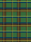 Realistic scottish fabric pattern Royalty Free Stock Photo