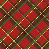 Realistic scottish textile Royalty Free Stock Photography
