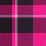 Realistic seamless tartan with visible threads Stock Images