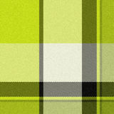 Realistic seamless tartan  with visible threads Royalty Free Stock Images
