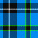 Realistic seamless tartan with visible threads vector illustration
