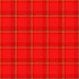 Realistic seamless tartan with visible threads Stock Photos