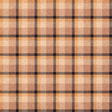 Realistic seamless tartan with visible threads Royalty Free Stock Photos