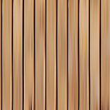 realistic seamless wooden texture vector illustration, vertical boards background. Stock Photography