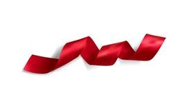 Realistic silk vector ribbon Stock Photos