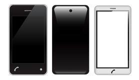 Realistic smart phone Royalty Free Stock Photo