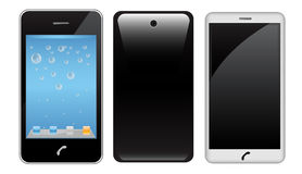 Realistic smart phone Stock Images