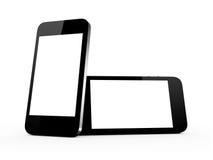 Realistic Smart Phones Stock Photos