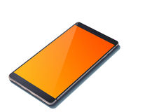 Realistic smartphone with blank screen. Mobile Stock Photography