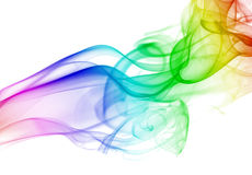Realistic smoke background Royalty Free Stock Images