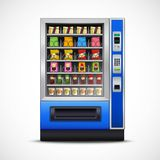 Realistic Snacks Vending Machine Royalty Free Stock Photos