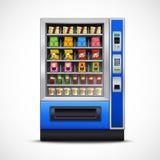 Realistic Snacks Vending Machine Royalty Free Stock Photos