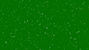 Realistic Snowfall / Green Screen 4K Loop