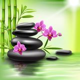 Realistic spa background Stock Photos