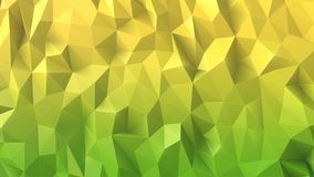 Realistic sparkling colorful 3d low polygonal background. Vector design Stock Photo