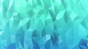 Realistic sparkling colorful 3d low polygonal blue background. Icy background in low poly style.rrVector design Stock Photo