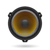 Realistic speaker Royalty Free Stock Photography