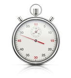 Realistic stopwatch Royalty Free Stock Photography