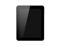 Realistic Tablet Computer Royalty Free Stock Photo