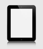 Realistic tablet pc computer Stock Images