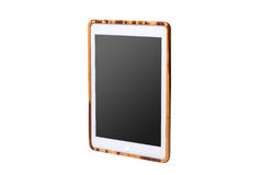 Realistic tablet pc computer with blank screen. Royalty Free Stock Photos