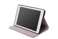 Realistic tablet pc computer with blank screen. Stock Photos