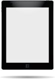 Realistic tablet. Realistic tablet on a white background Royalty Free Stock Photography