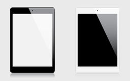 Realistic tablets Royalty Free Stock Photo