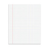 Realistic template notepad. Royalty Free Stock Image