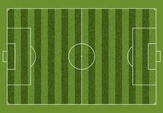 A realistic textured grass football soccer field. Vector EPS 10. A realistic textured grass football soccer field. Vector royalty free illustration