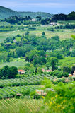 Realistic Toscana Landscape Royalty Free Stock Photo