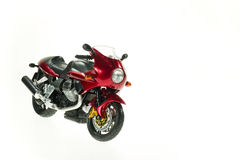 Realistic Toy Motorcycles Royalty Free Stock Photo